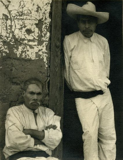 Paul Strand, Portrait of Two Men