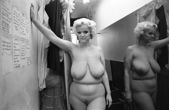 Amy Touchette, Backstage, Times Square