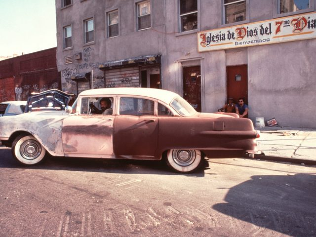 Arlene Gottfried, Buick, East 6th Street