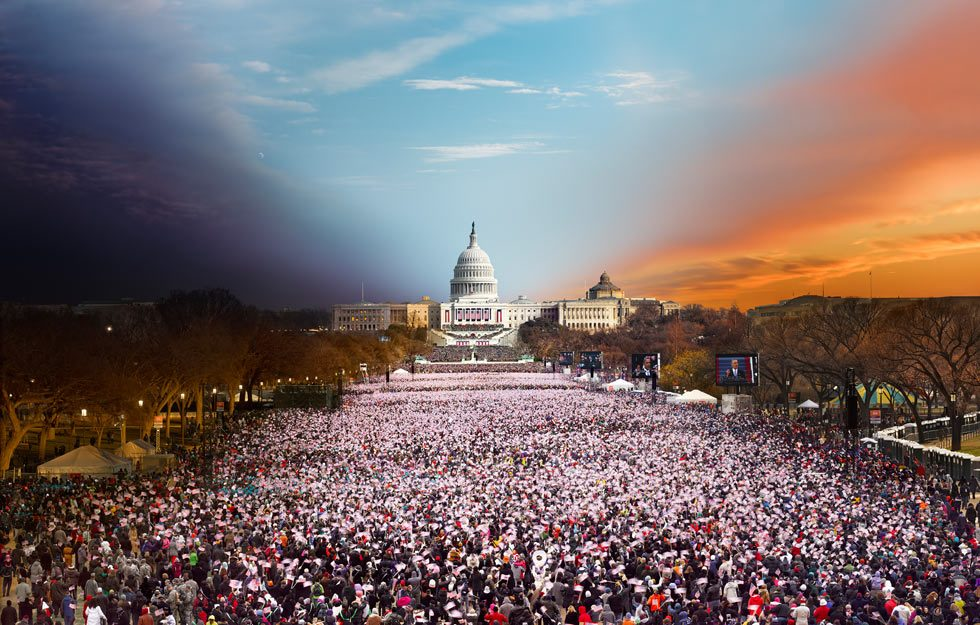 Stephen Wilkes, Inauguration, Barack Obama