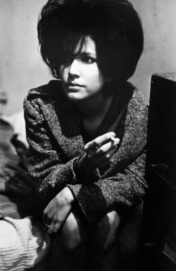 Larry Clark, Untitled (Woman with Cigarette)