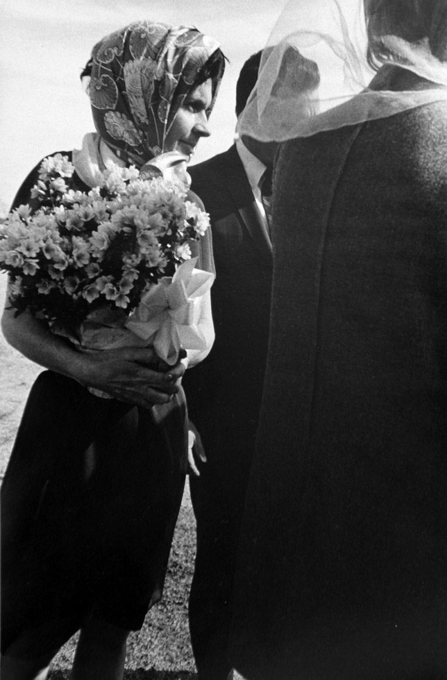 "Untitled (Woman with Bouquet, from the series ""Tulsa"")"