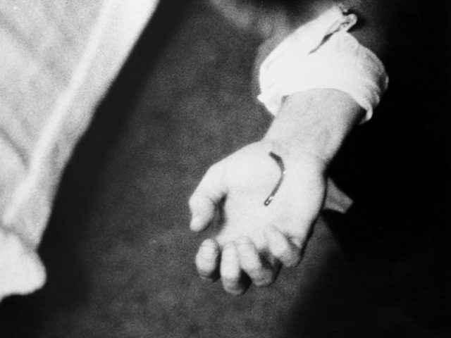"Larry Clark, Untitled (Bleeding Hand, from the series ""Tulsa"")"