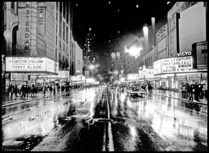 Andrew Garn, Rainy Night, 42nd st