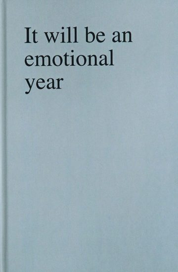 Sophie Barbasch, It will be an emotional year