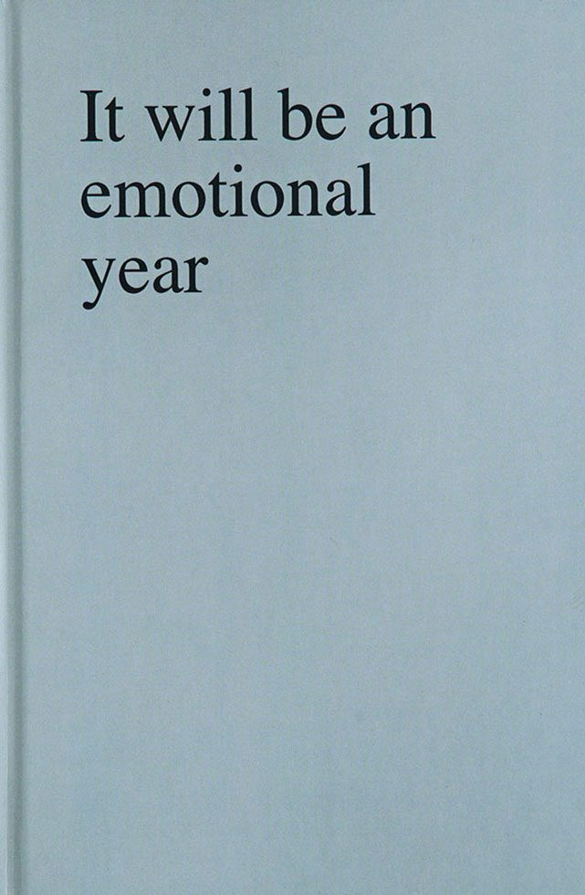 It will be an emotional year