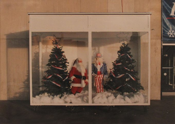 Marion Faller, Santa Claus and Uncle Sam, Festival of Lights, Niagara Falls, NY