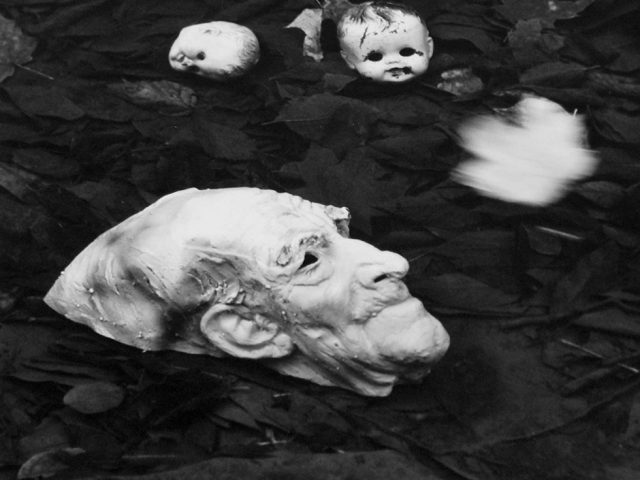Ralph Eugene Meatyard Untitled (Mask in Water)