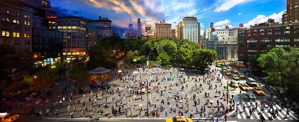 Stephen Wilkes, Union Square