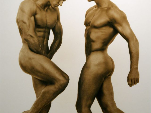 Herb Ritts, Two Male Nudes