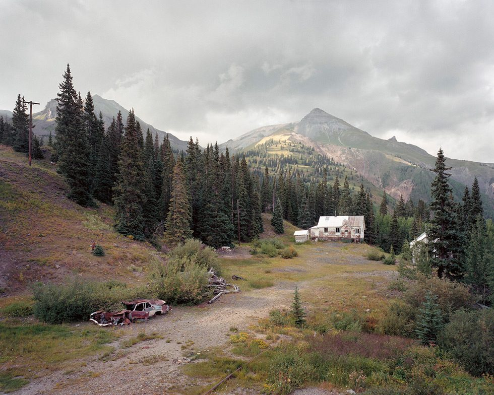 Abandoned Homestead, Red Mountain Mining District, Colorado