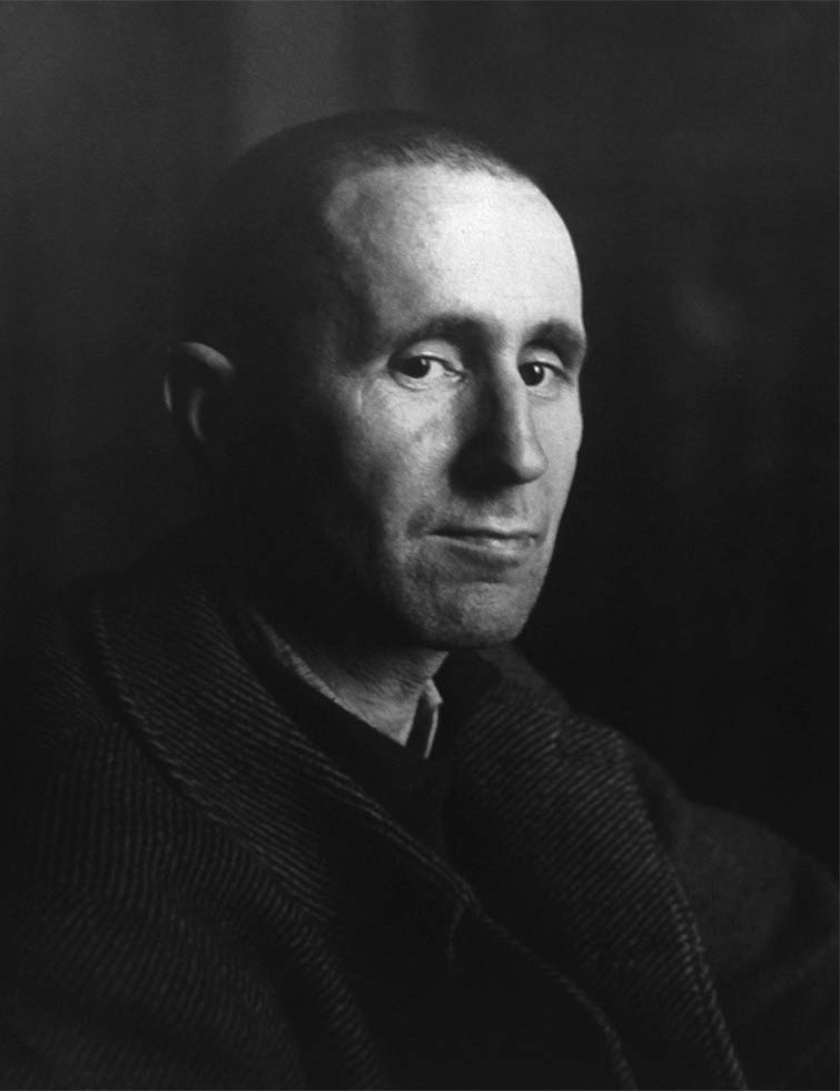 Portrait of Bertold Brecht