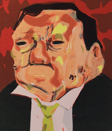 Dana Schutz, Poisoned man