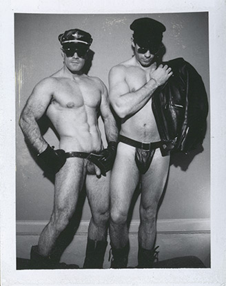 Untitled (Two Men in Leather) / P00080
