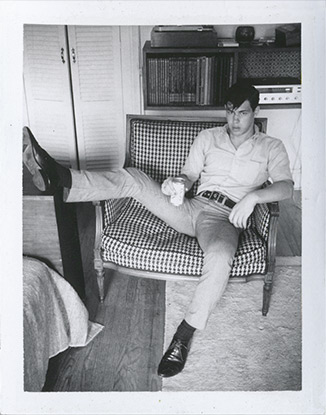 Jim French, Man in Chair, P00109
