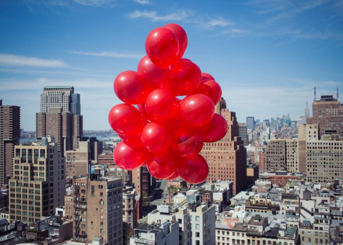 Rachel Hulin, Balloons Facing North