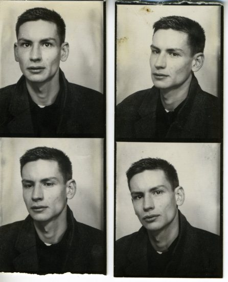 Mark Morrisroe, Self Portrait (Photo Booth Strips)