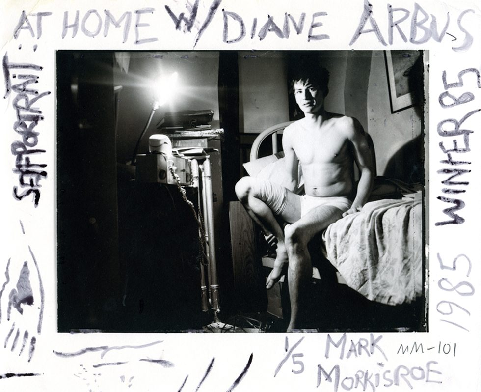Self Portrait at Home with Diane Arbus