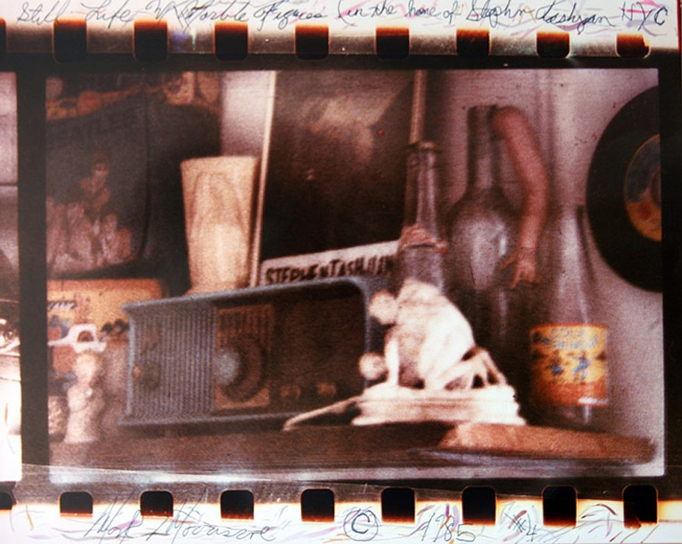 Still Life with Marble Figure (In the Home of Stephan Tashjan, NYC)