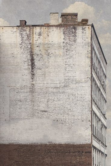 Marc Yankus, White Building In Chelsea, 2013
