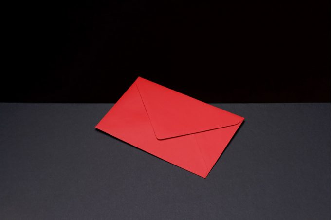 Vadim Gushchin, Colored Envelopes #3