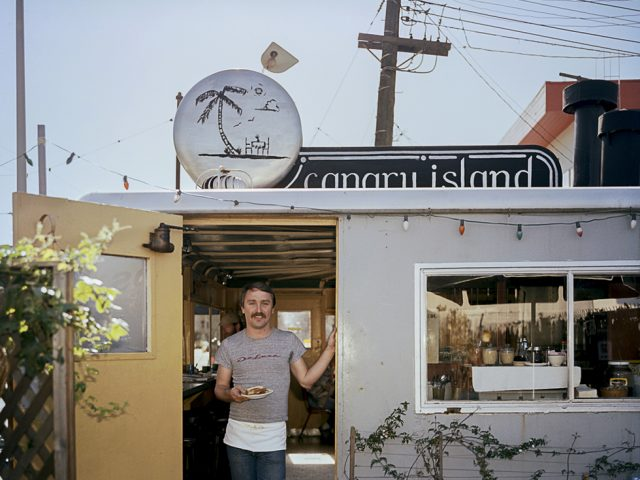 Janet Delaney, Canary Island Diner, Harrison at 9th Street, 1982