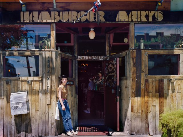 Janet Delaney, Hamburger Mary's, Folsom at 10th Street