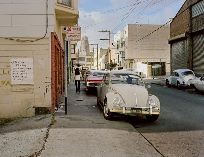 Janet Delaney, Langton Street between Folsom and Howard Street