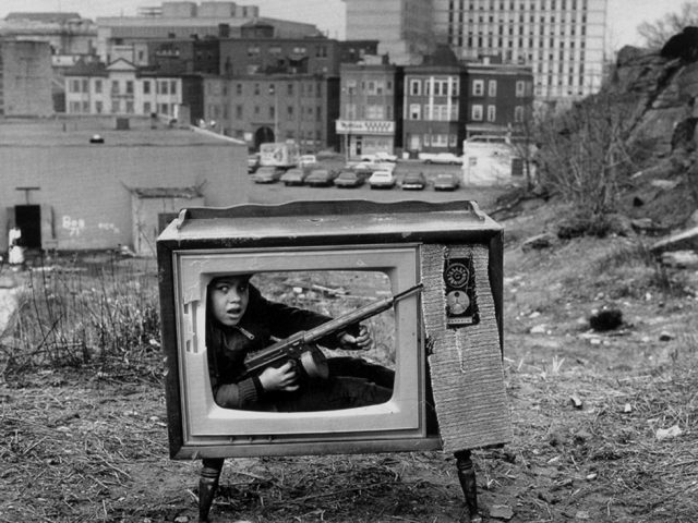 Arthur Tress, Boy in TV Set