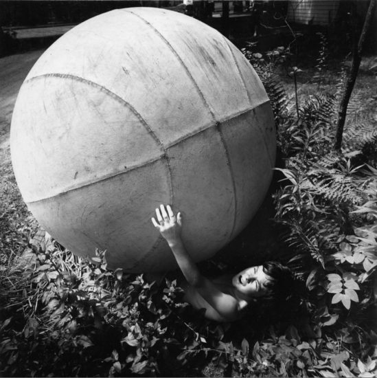 Arthur Tress, Boy With Giant Ball
