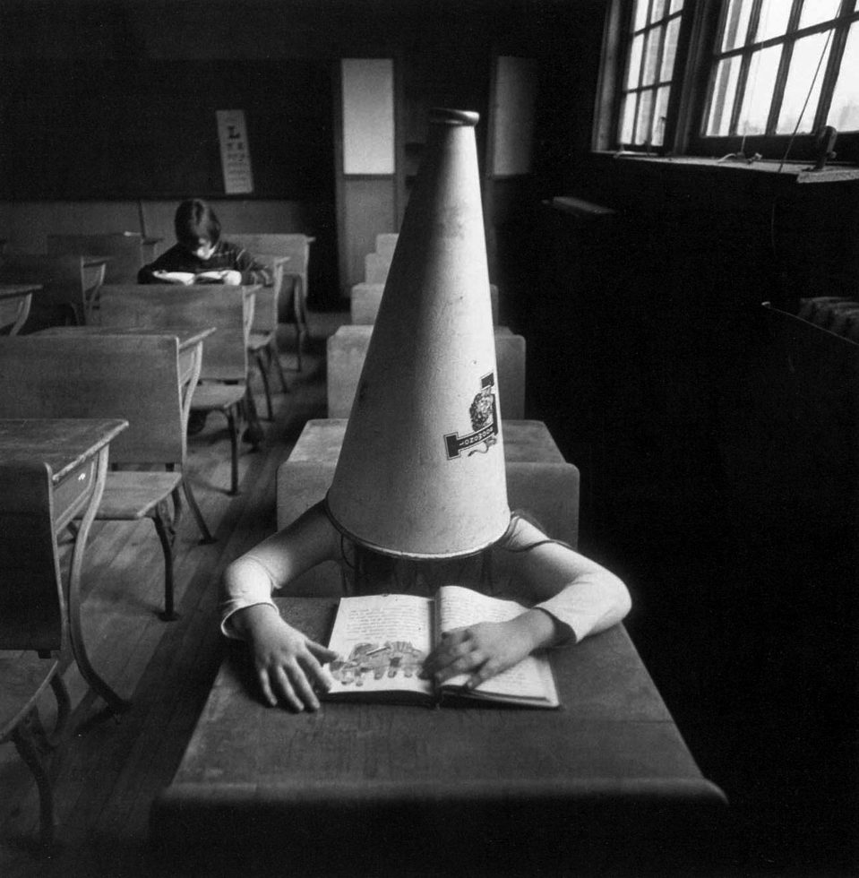 Girl with Dunce Cap