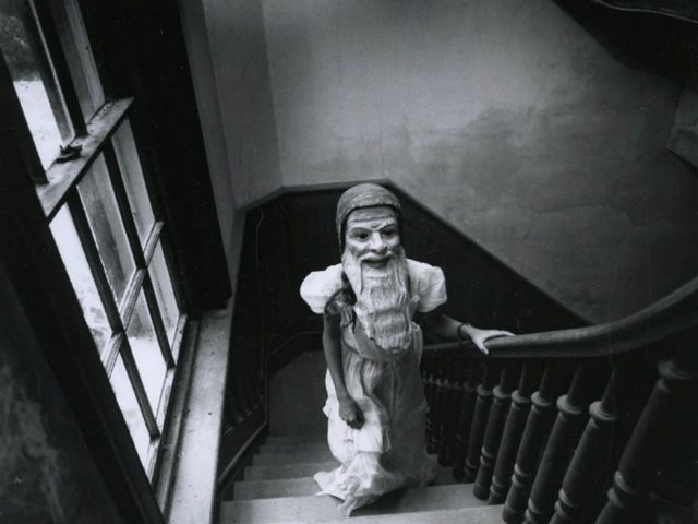 Arthur Tress, Girl With Mask