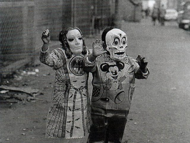 Arthur Tress, Masked Children, 110th Street