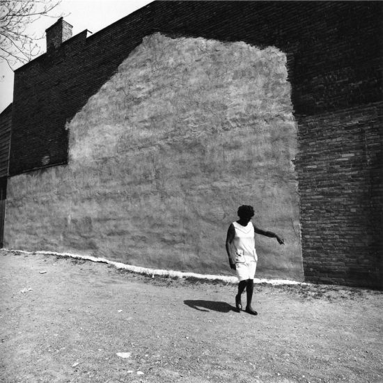 Arthur Tress, Woman in Urban Renewal Projecgt