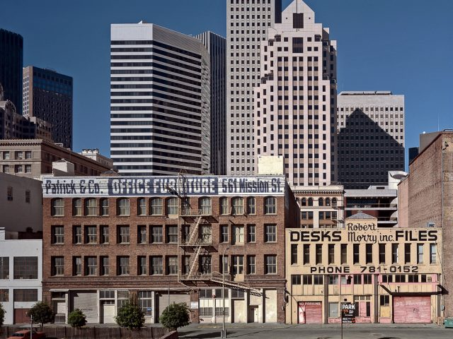 View of the Financial District from south of Market Street