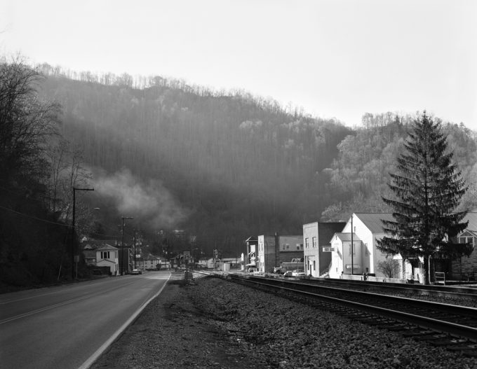 Christopher Churchill, Rail Road Tracks and Church