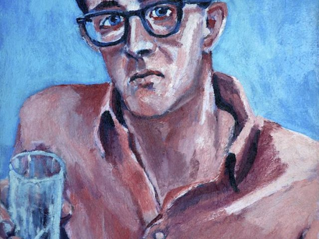 Carlo Pittore, Portrait of Keith Haring