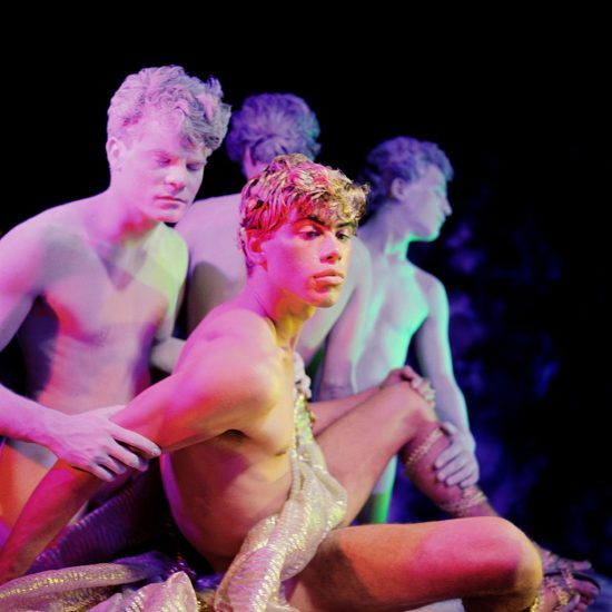James Bidgood, Statues and Slave