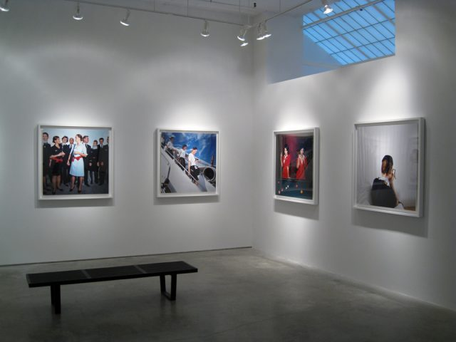 Exhibition image, Brian Finke, Flight Attendants