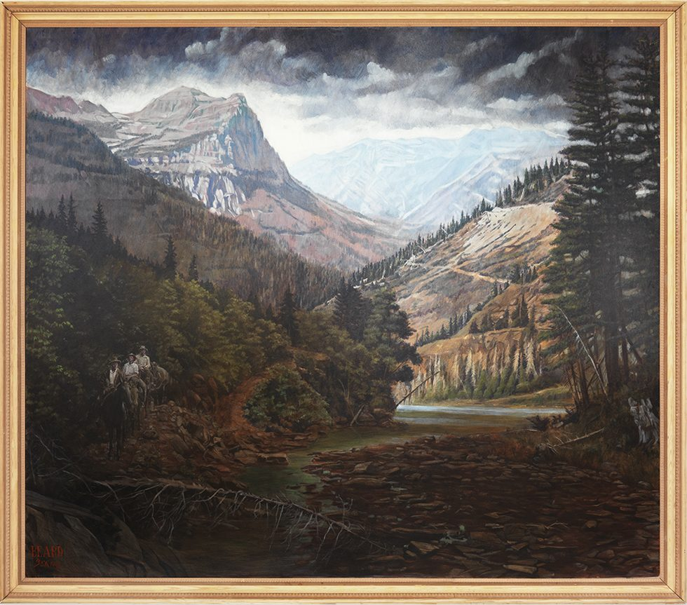 [Beard Beard (b. 1885)] Mountain