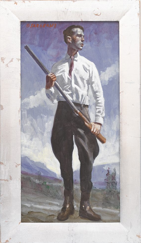 [Bruce Sargeant (1898-1938)] Hunter