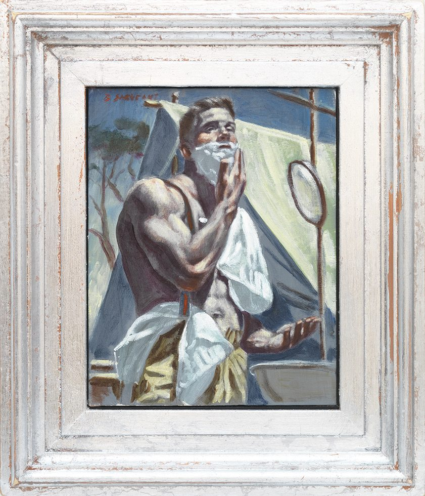 [Bruce Sargeant (1898-1938)] Morning Shave