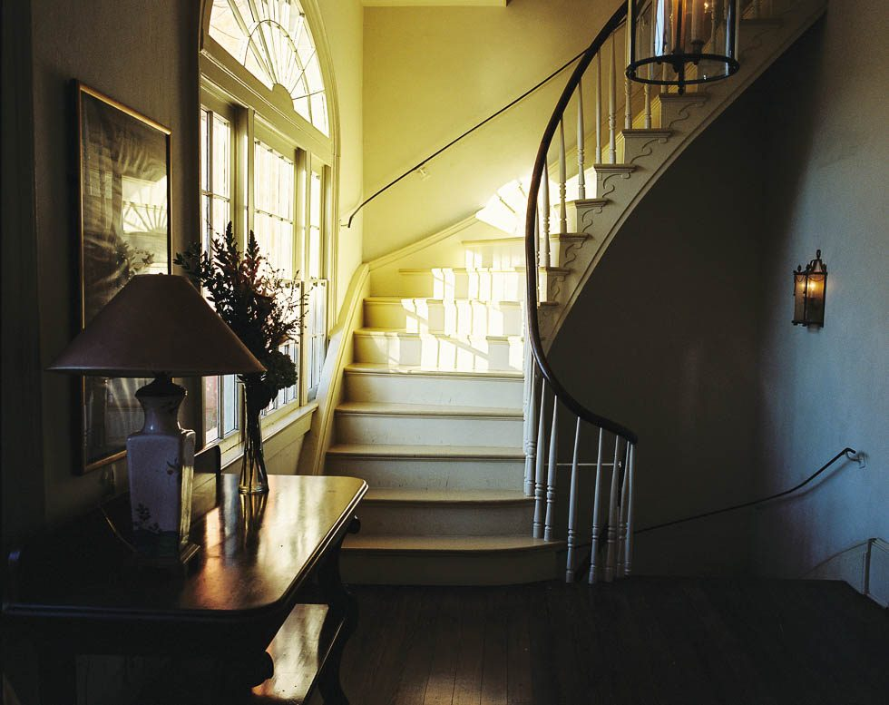 Sunlit Staircase