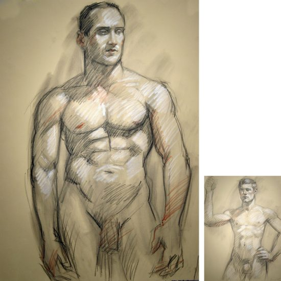 Mark Beard, Untitled double-sided drawing