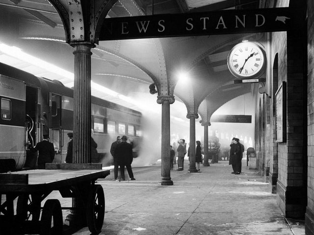 David Plowden, Delaware, Lackawanna and Western Railroad Station, Scranton, Pennsylvania