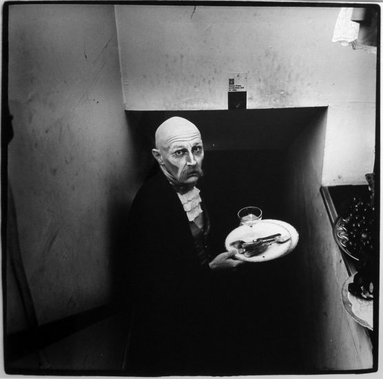 Peter Hujar, Sydney Chalndler Faulkner as the Butler in Charles Ludlam's 'Camille,'