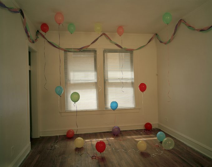 Balloons in a Room