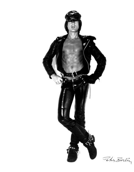 Peter Berlin, Self Portrait in Black Leather I