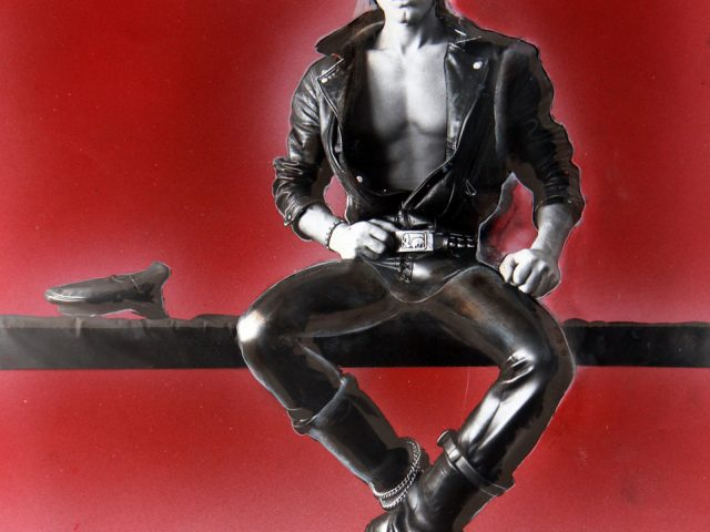 Peter Berlin, Self Portrait in Black Leather