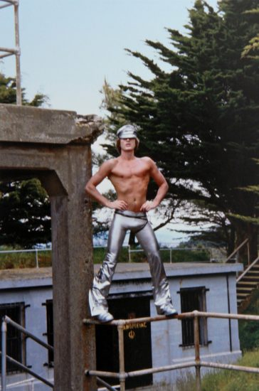 Peter Berlin, Self Portrait in Silver Pants
